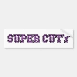 Super Cuty Bumper Sticker