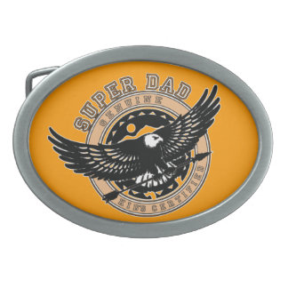 Super Dad Belt Buckle