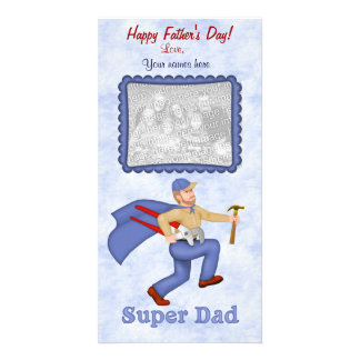 Super Dad Father's Day Picture Card