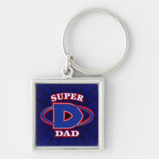 Super Dad Key Chain