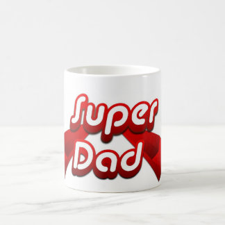 Super Dad Red Mug