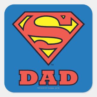 Super Dad Square Sticker