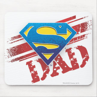 Super Dad Stripes Mousepad