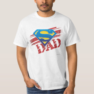 Super Dad Stripes T-Shirt