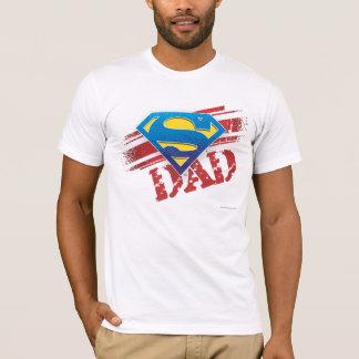 Super Dad Stripes T-Shirt