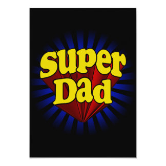 Super Dad, Superhero Red/Yellow/Blue Card