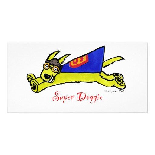 Super Doggie Picture Card