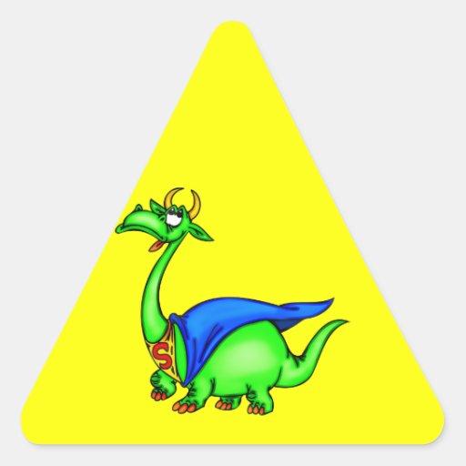 Super Dragon Triangle Sticker