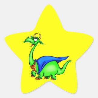Super Dragon Star Stickers