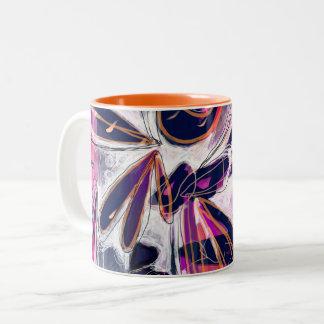 Super Dragonfly Abstract Mug
