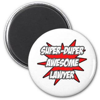 Super Duper Awesome Lawyer Fridge Magnet