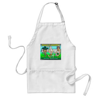 Super Duper Committee Adult Apron