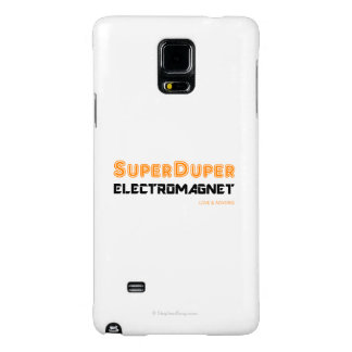 Super Duper Electromagnet Galaxy Note 4 Case