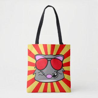 Super Duper Rad Rat Tote Bag