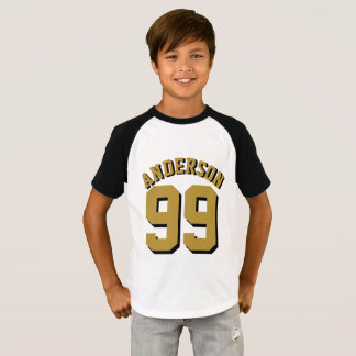 Super Fan Fantasy Team Name and Number T-Shirt