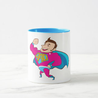 super father's day gift idea super mug