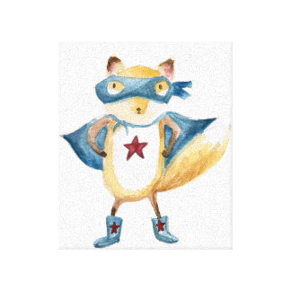 Super Fox! Canvas Print