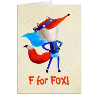Super Fox Card