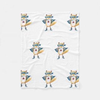 Super Fox! Fleece Blanket