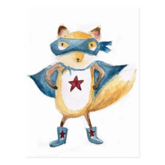 Super Fox! Postcard