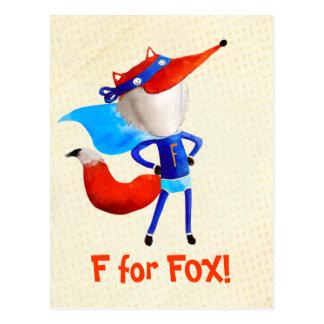 Super Fox Postcard