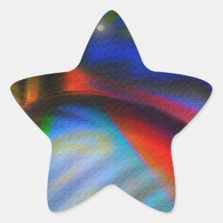 Super Friends Unite Star Sticker