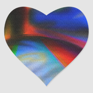 Super Friends Unite Heart Stickers