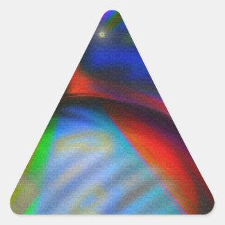 Super Friends Unite Triangle Sticker