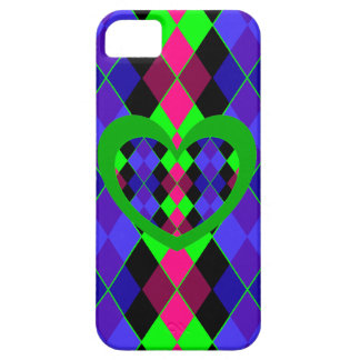 Super funky argyle iPhone 5 cover