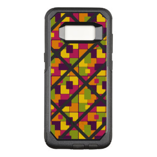 Super Funky Colorful Pattern OtterBox Commuter Samsung Galaxy S8 Case