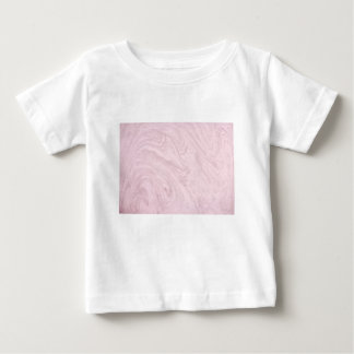 Super Girly PINK Marble Abstract Art Swirl! Baby T-Shirt