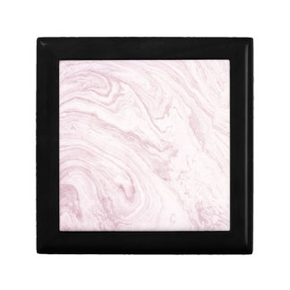 Super Girly PINK Marble Abstract Art Swirl! Gift Box