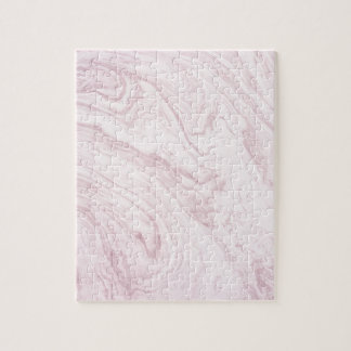 Super Girly PINK Marble Abstract Art Swirl! Jigsaw Puzzle