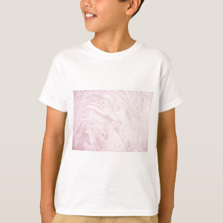 Super Girly PINK Marble Abstract Art Swirl! T-Shirt