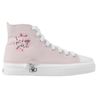 Super Girly ZIPZ Shoes, US 6 Printed Shoes