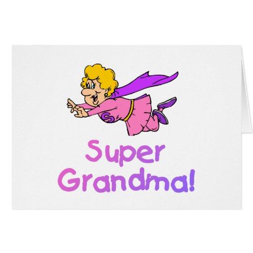Super Grandma (Flying) Card