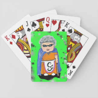 Super Grandma Playing Cards