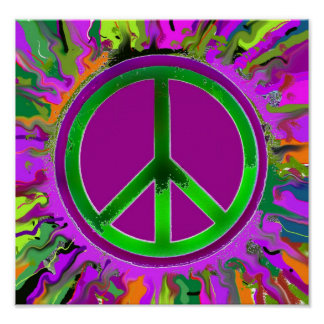 SUPER Groovy Peace Sign
