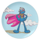 Super Grover 2 Plate