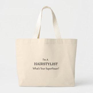 Super Hairstylist Jumbo Tote Bag