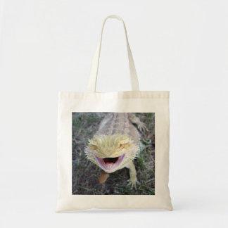 Super Happy Bearded Dragon Tote Bag