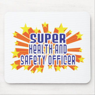 Super Health and Safety Officer Mouse Mat