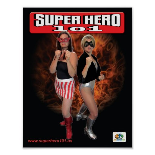 Super Hero 101 Poster #1