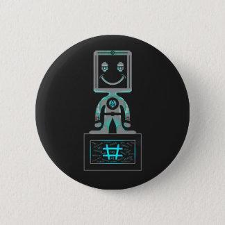 #Super Hero 6 Cm Round Badge