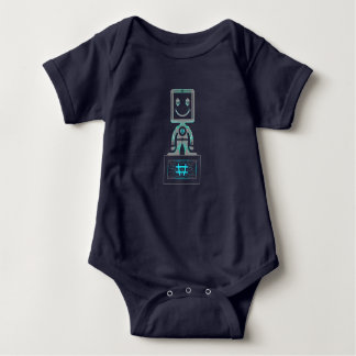 #Super Hero Baby Bodysuit