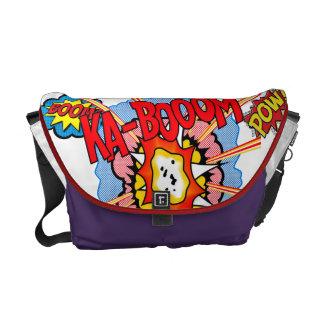 Super Hero Battle Bag Messenger Bag