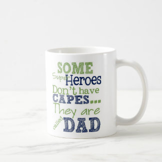 Super Hero Dad Mug