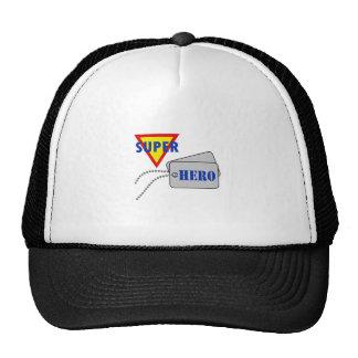 SUPER HERO DOG TAGS CAP
