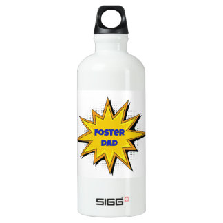 Super Hero Foster Dad Water Bottle