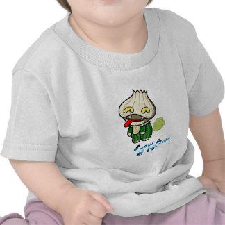 Super Hero - Garlic Man T-shirts